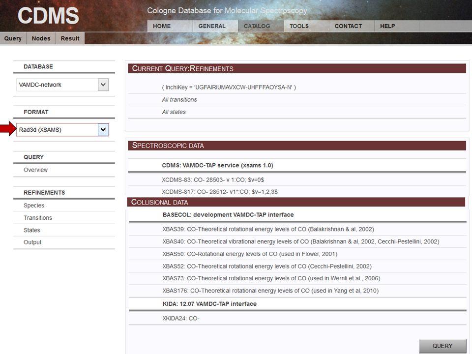 Christian Endres, Universität zu Köln 69 th ISMS, Urbana-Champaign, 2014