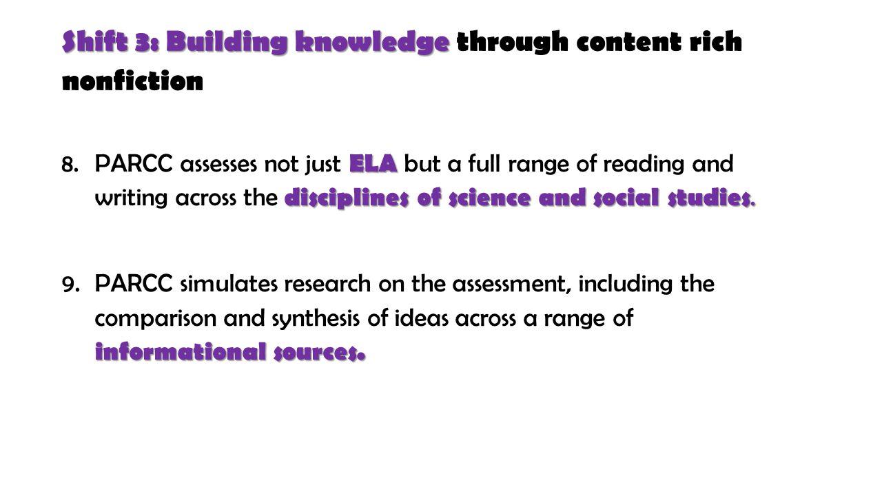 ELA Building Knowledge