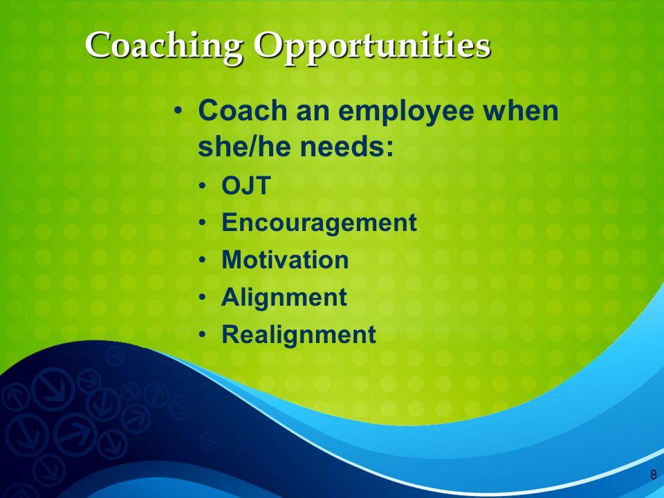 9 Coaching Model
