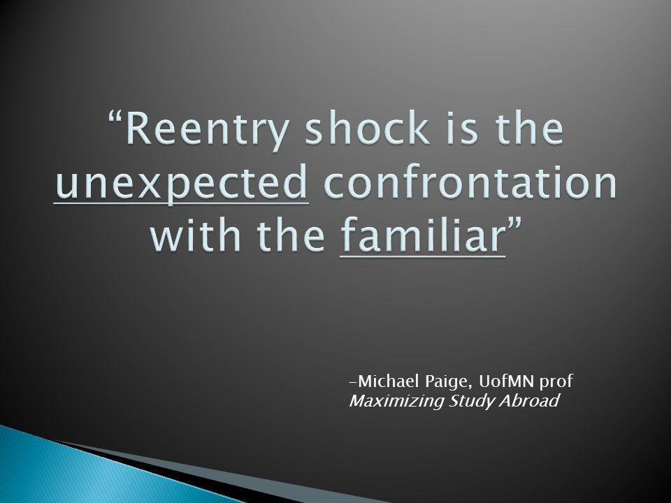 -Michael Paige, UofMN prof Maximizing Study Abroad
