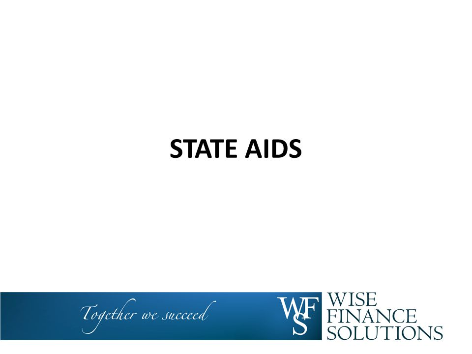 STATE AIDS