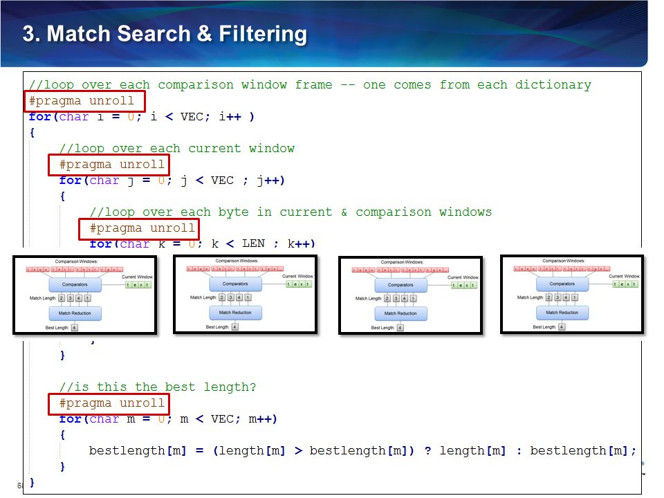 3. Match Search & Filtering 68