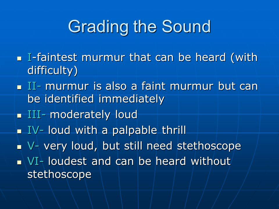 Does sound matter.