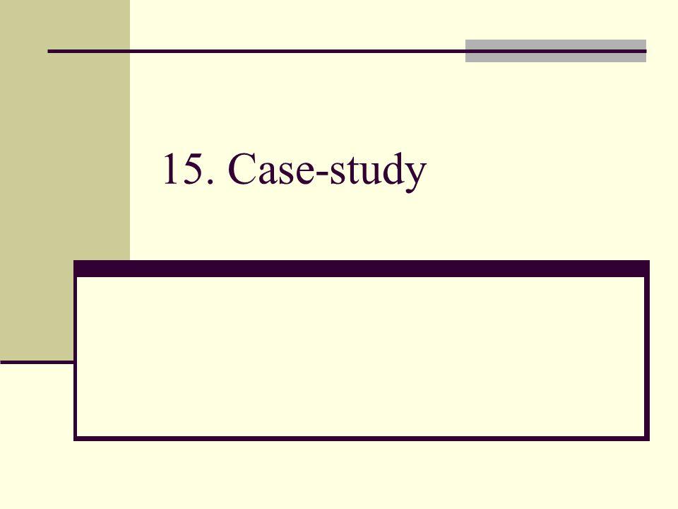 15. Case-study