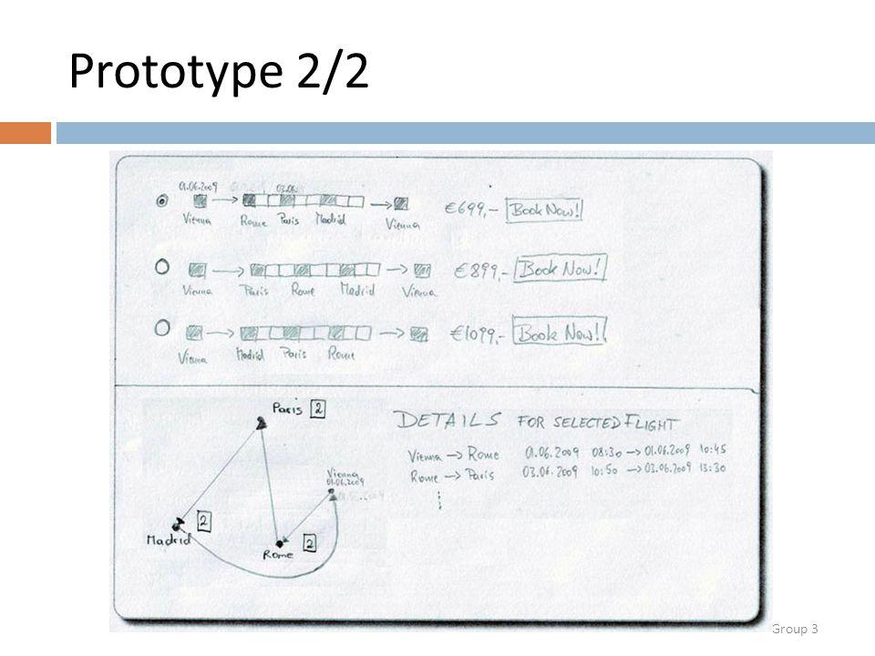 Group 3 Prototype 2/2