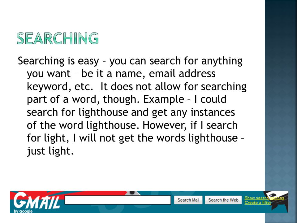 Searching is easy – you can search for anything you want – be it a name,  address keyword, etc.