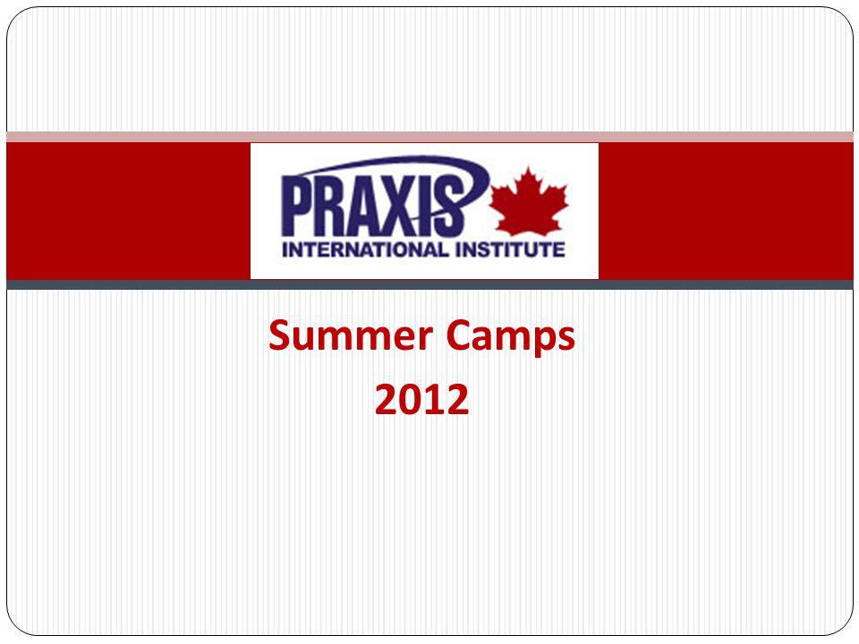 Summer Camps 2012