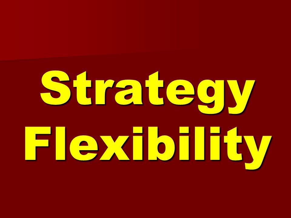 Strategy Flexibility