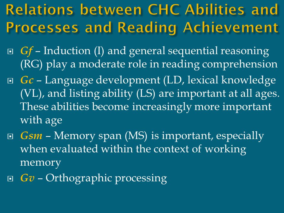  Process of going from explicit to implicit memory  Efficient way of managing overwhelming amounts of information  Implicit memory-laying down of skills and habits that, once learned, do not have to be consciously thought about – eating, talking, walking, reading Information on this slide was presented by Elaine Fletcher-Janzen at the 3 rd annual assessment conference, Fordham University.