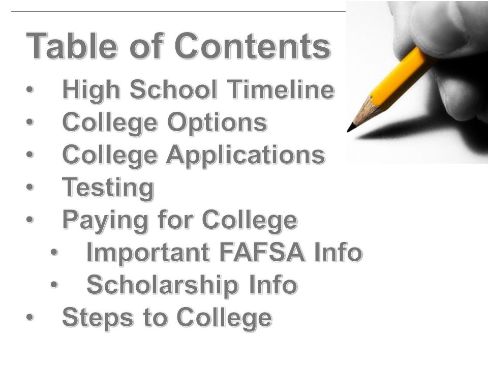 Work with your community college counselor to be sure you are enrolled in one of these plans.
