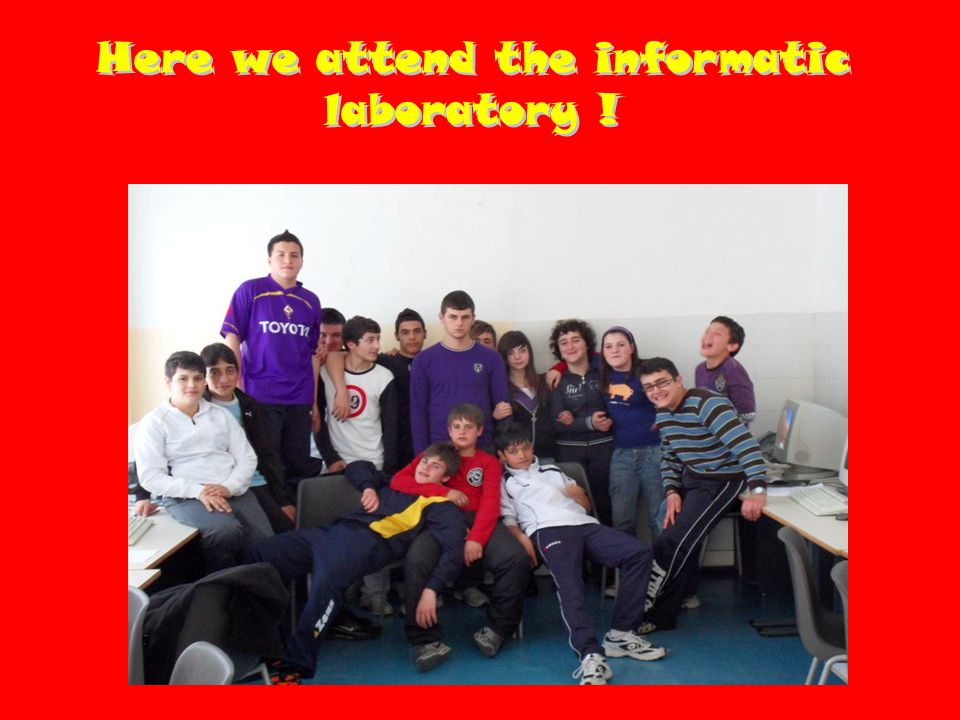 This is our art laboratory !