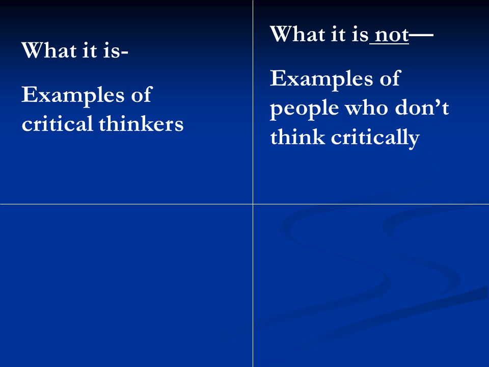 "what are the six stages of critical thinking Not every teacher will experience every stage--or every stage to the 6 stages of a teaching career i continued, ""critical thinking is among the first."