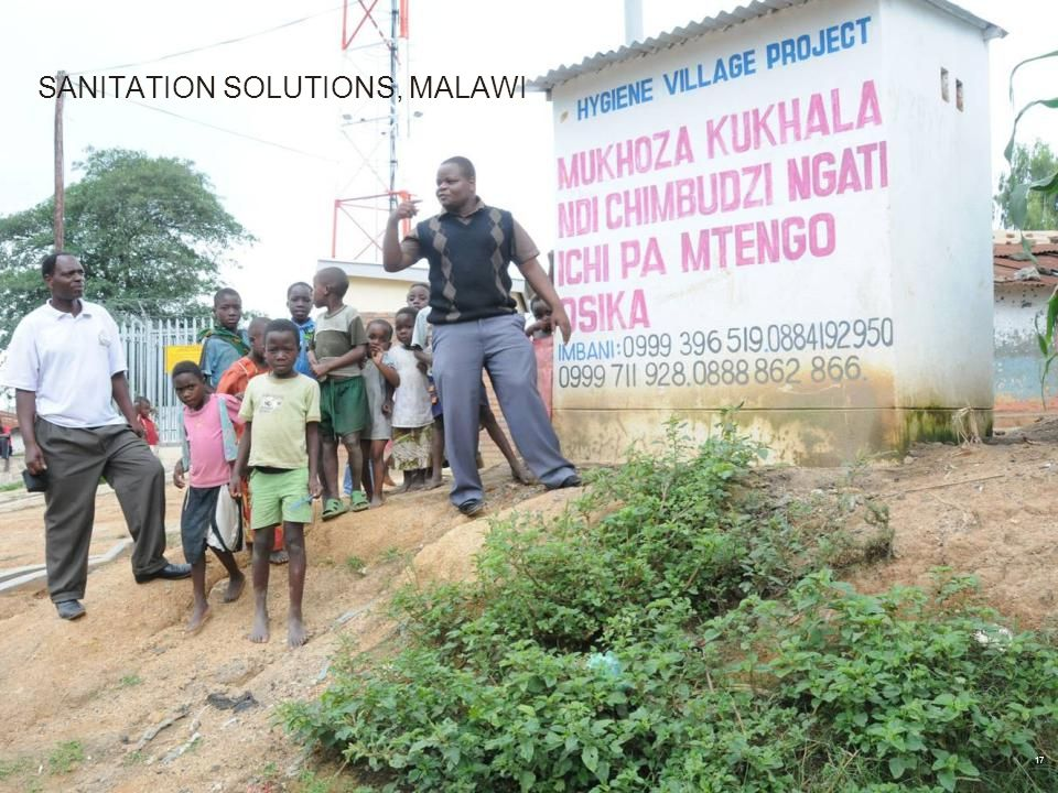 SANITATION SOLUTIONS, MALAWI 17