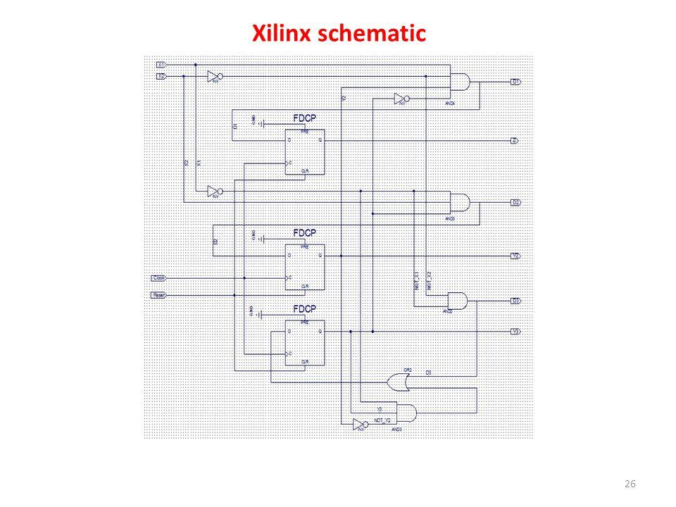 Xilinx schematic 26