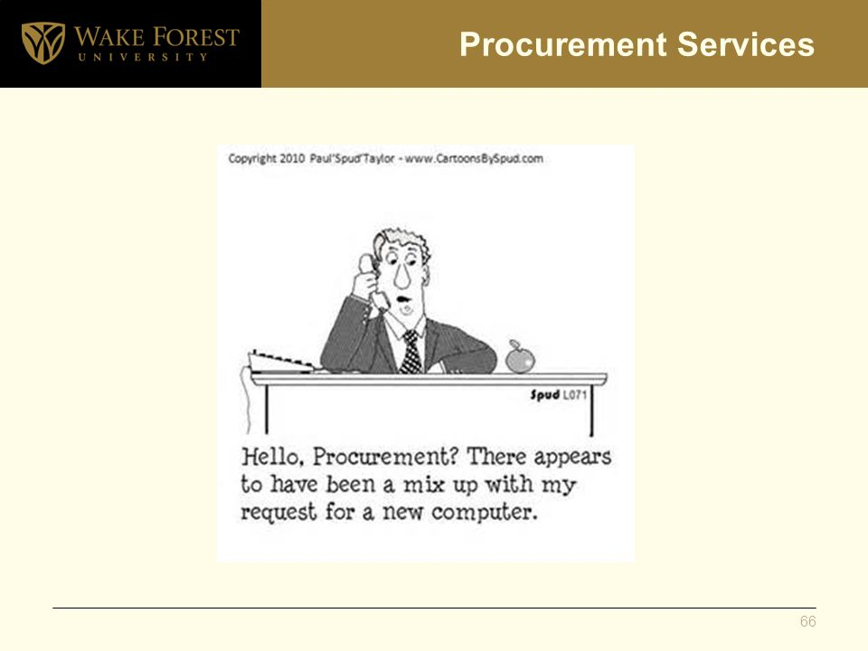Procurement Services 66