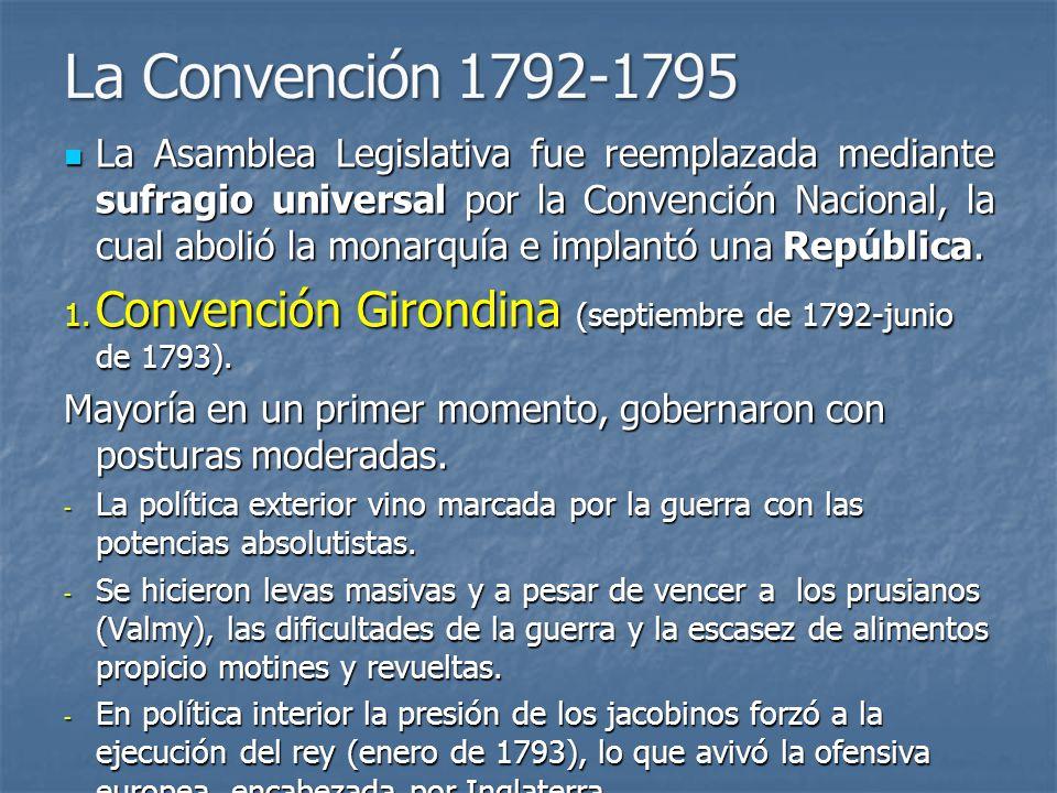 La Asamblea Legislativa fue reemplazada mediante sufragio universal por la Convención Nacional, la cual abolió la monarquía e implantó una República.