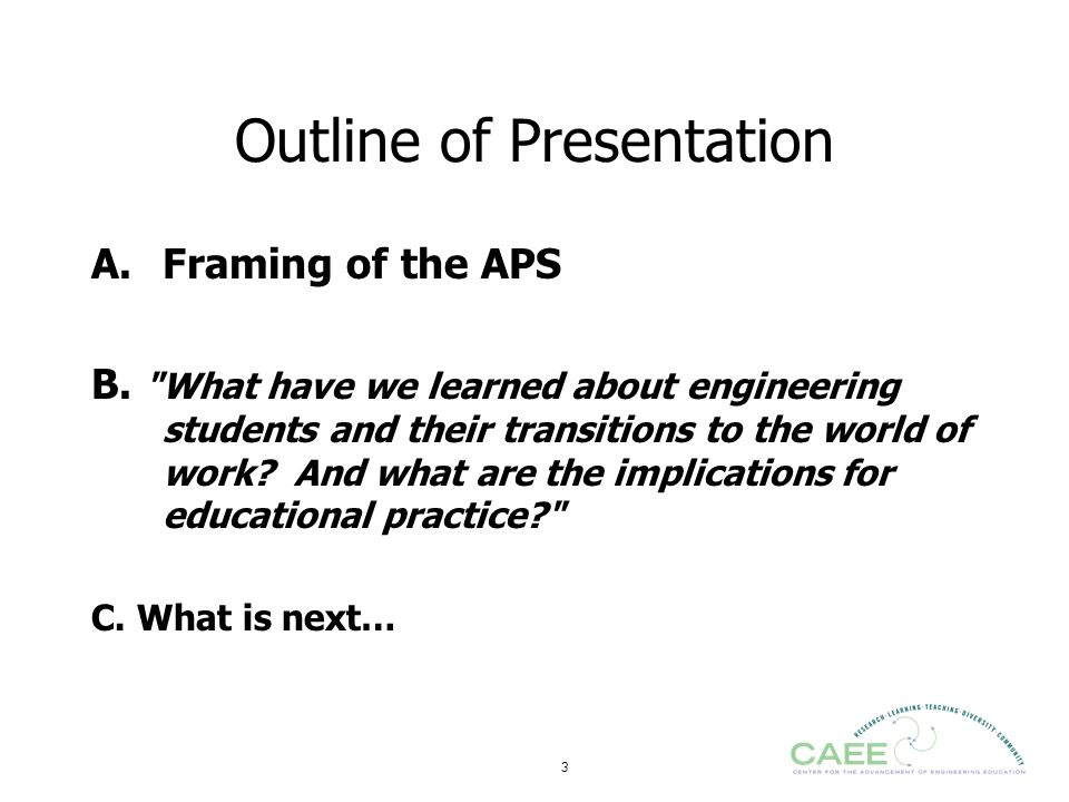 54 What have we learned: selected findings from the APS team Decision Making & persistence ; (Sheppard) Identity (Stevens) Design Skills and Perceptions (Atman) Institutional Factors (Fleming)