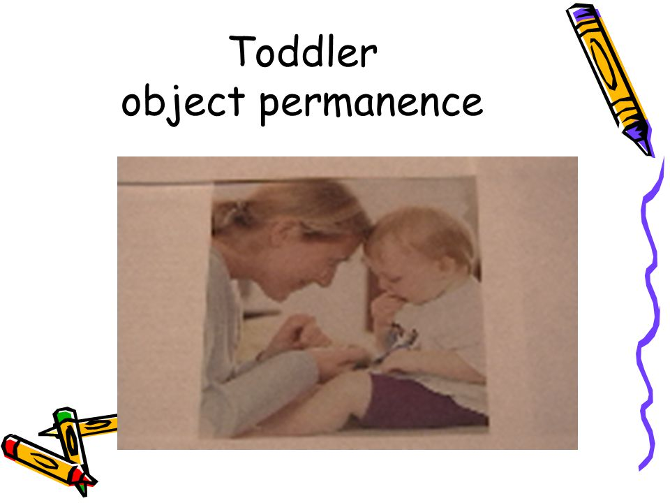 Toddler object permanence