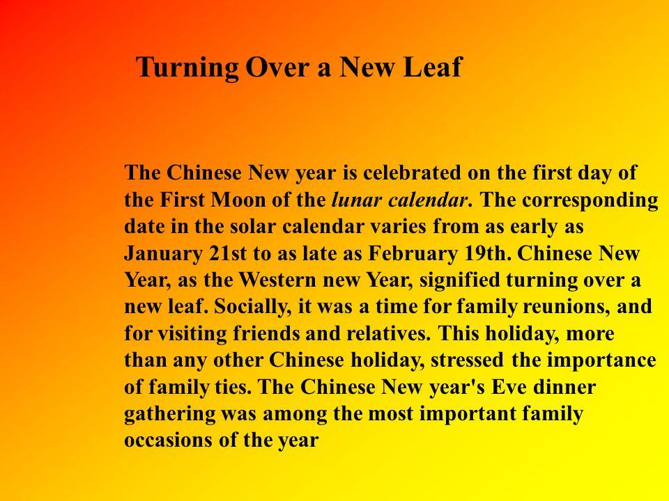 What is Chinese Lunar Calendar.