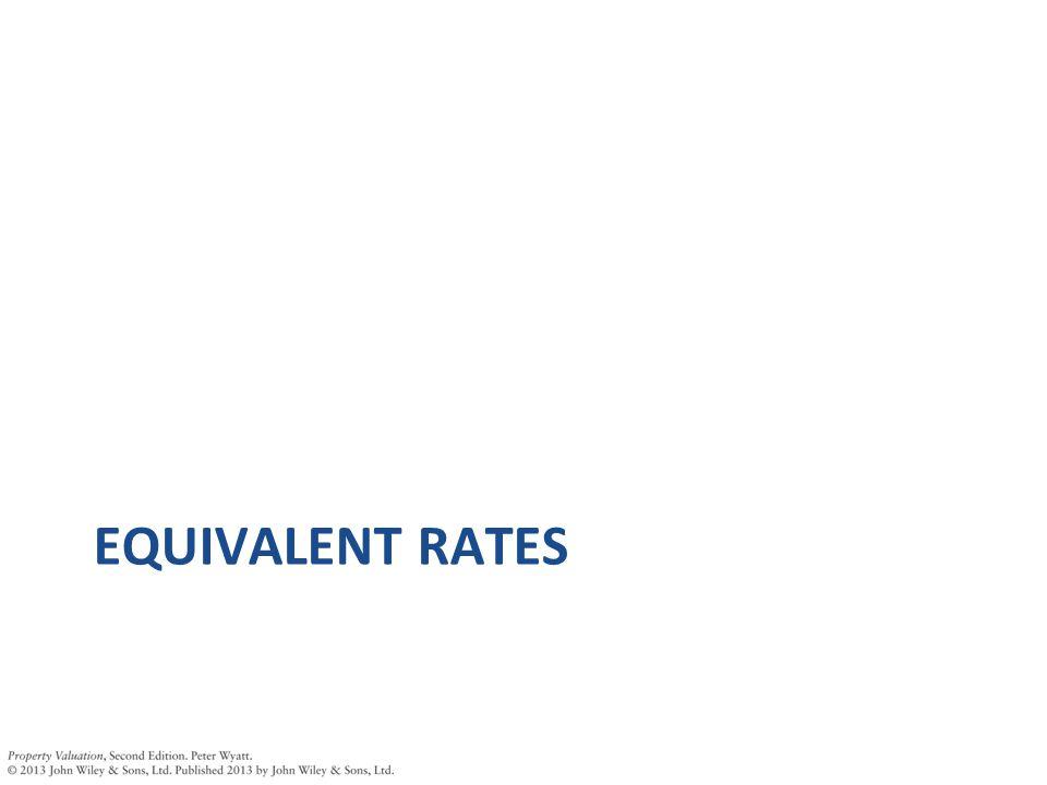 EQUIVALENT RATES
