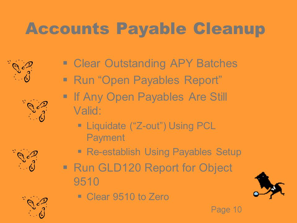 APY Batch Clean-Up  Review APY Batch Control Report  Identify Unpaid Batches by June 21  Report Batch Contents Using District Accounts Payable Prelist Report  Delete Unprocessed Payments  Void Empty, Unpaid 2005/2006 Batches  All Batches PAID or VOID by June 22 Page 13