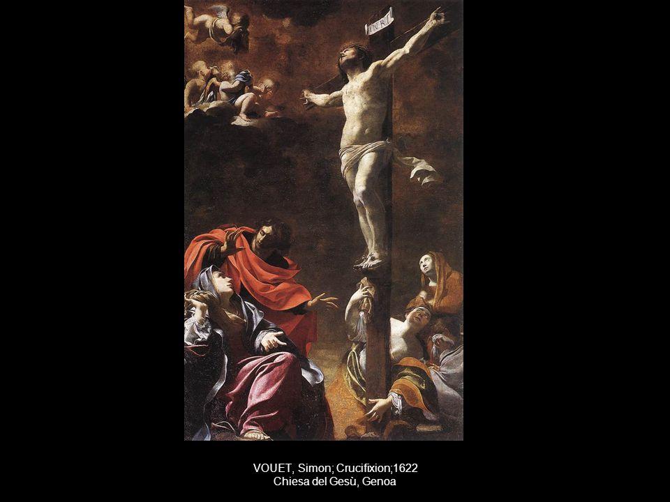 VOUET, Simon; Crucifixion;1622 Chiesa del Gesù, Genoa