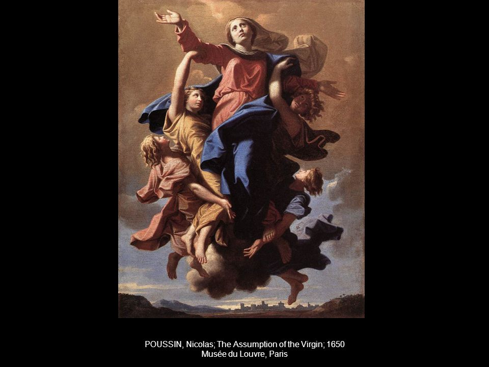 POUSSIN, Nicolas; The Assumption of the Virgin; 1650 Musée du Louvre, Paris