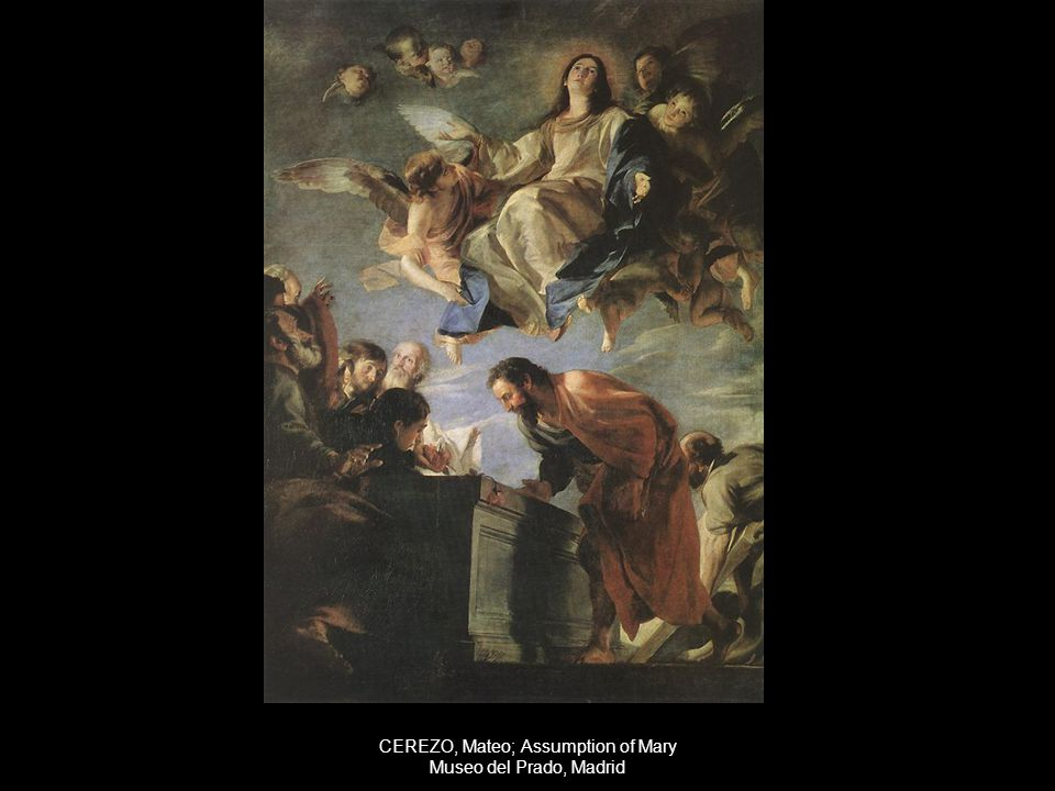 CEREZO, Mateo; Assumption of Mary Museo del Prado, Madrid
