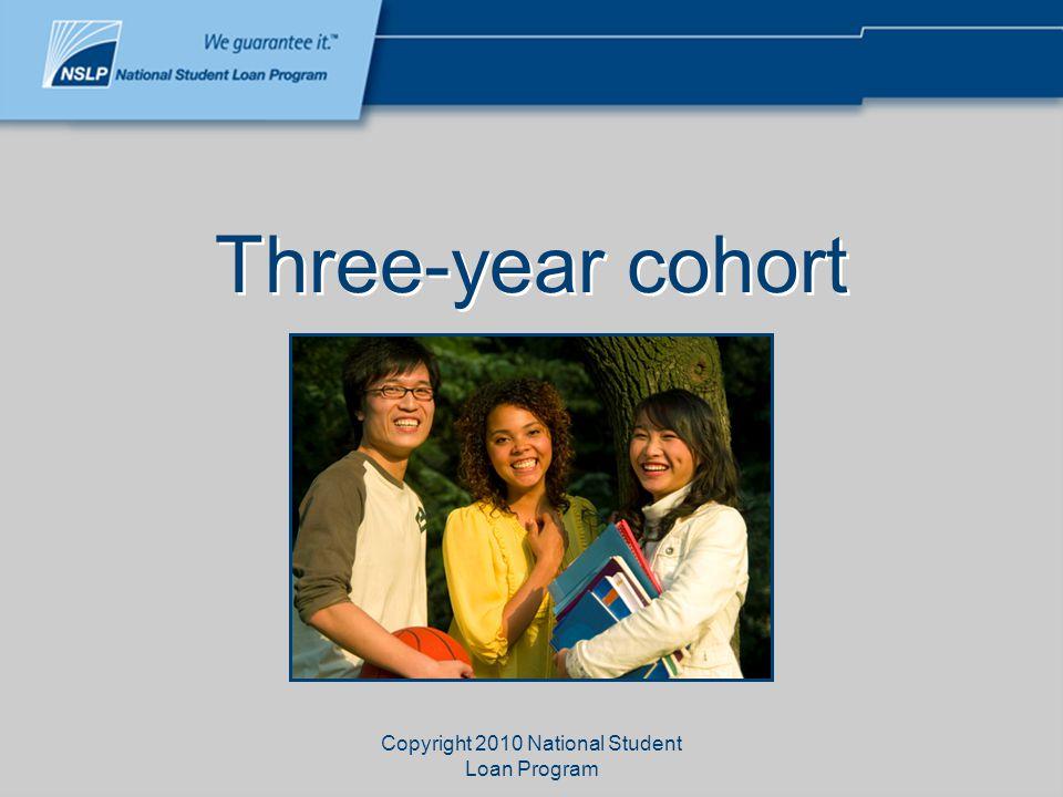 Copyright 2010 National Student Loan Program Cohort Default Rate