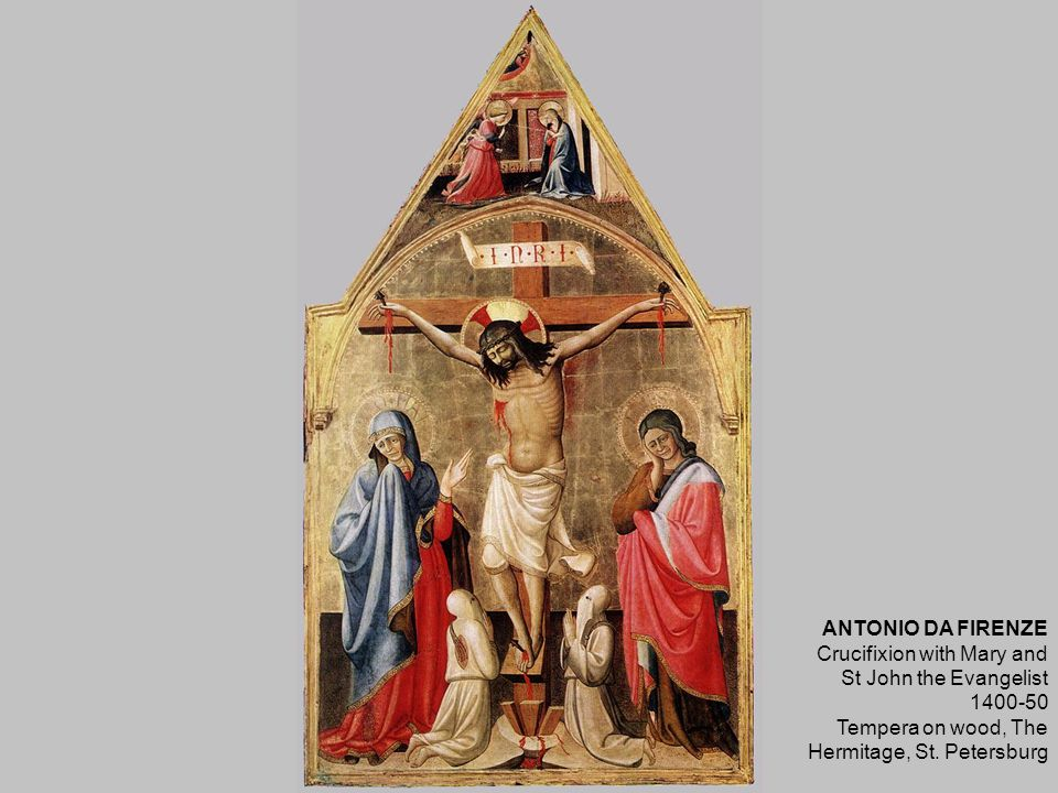 BREU, Jörg the Elder Crucifixion 1524 Museum of Fine Arts, Budapest
