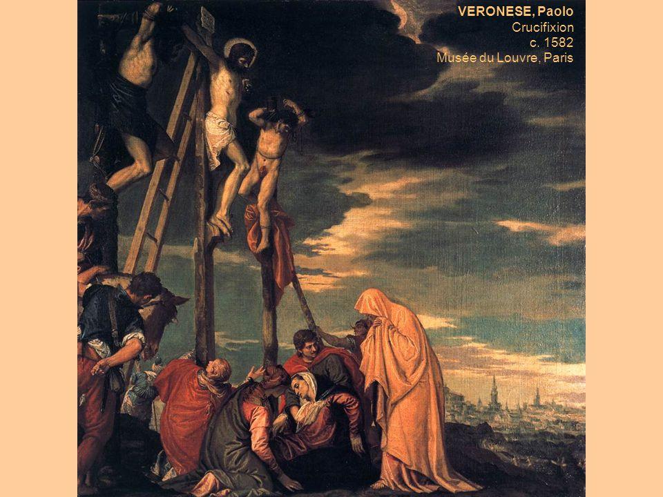 VERONESE, Paolo Crucifixion c. 1582 Musée du Louvre, Paris
