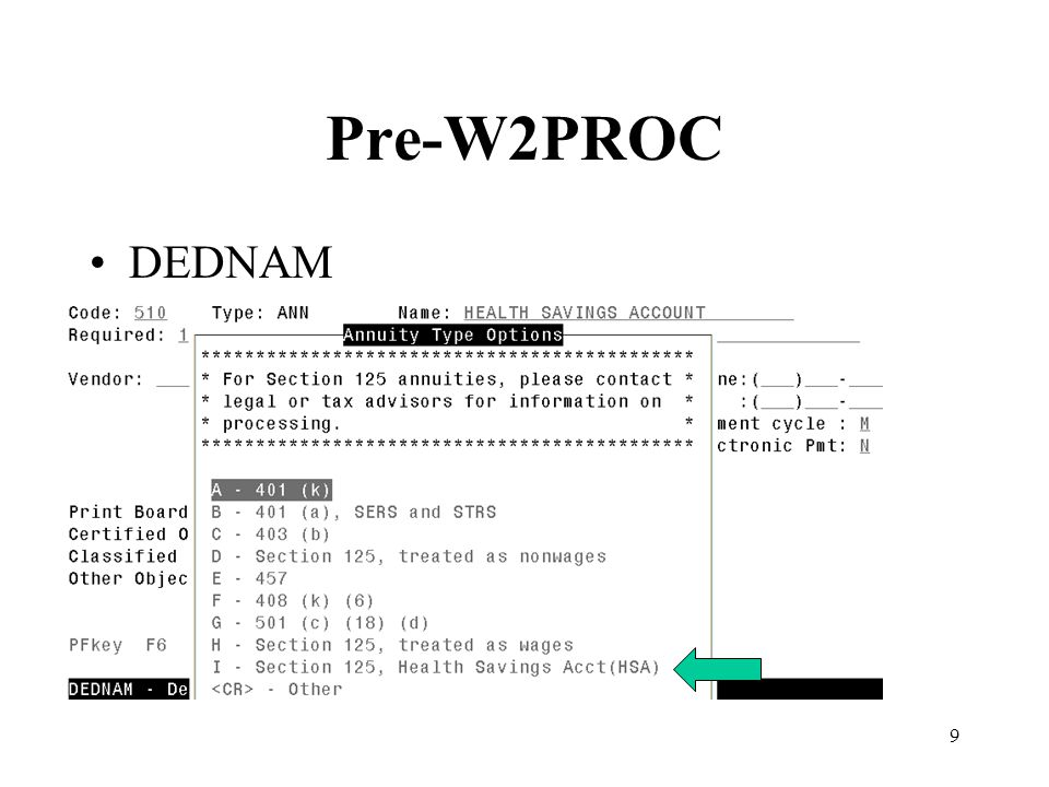 50 W2PROC –The option to Delay printing of your W2 forms exists.