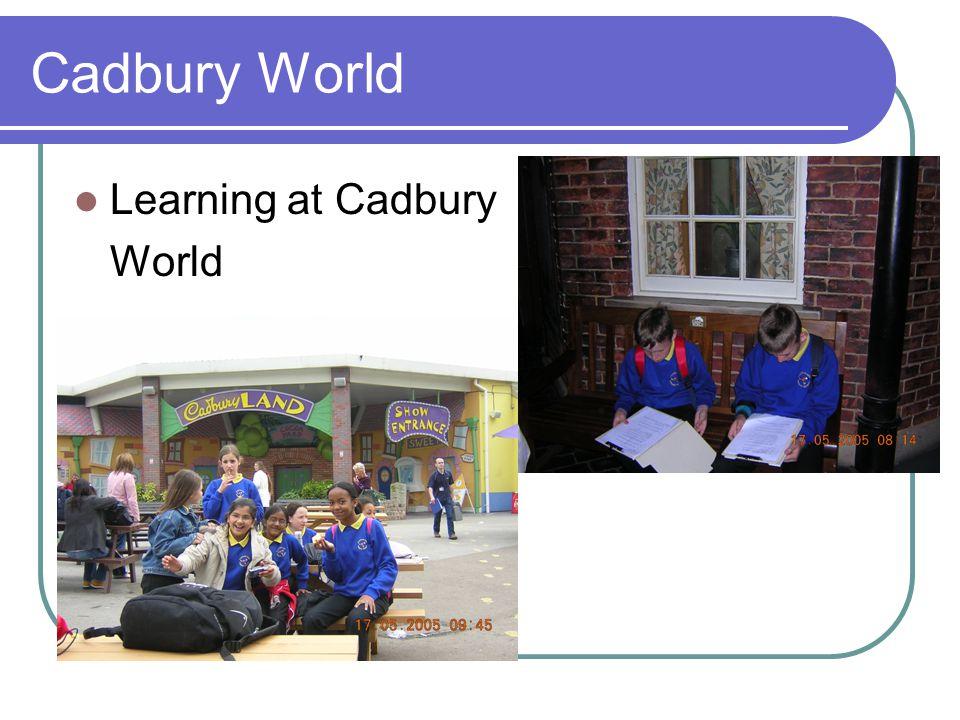 Cadbury World Learning at Cadbury World
