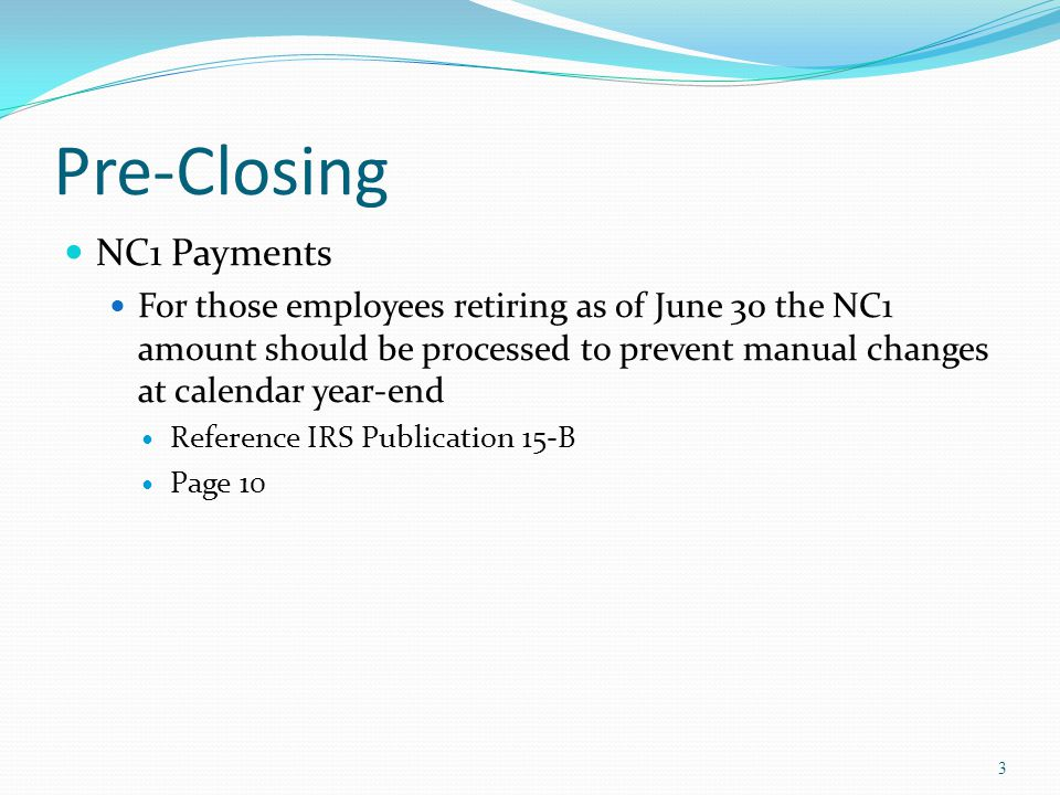 Fiscal Year-End Closing NONADV.TXT Lists some of the employees with jobs that are not advancing If job has no amounts remaining to pay but meets all other criteria If days worked plus remaining days from calendar through June 30 th exceed the total work days Not a catch of all potential jobs/employees 34