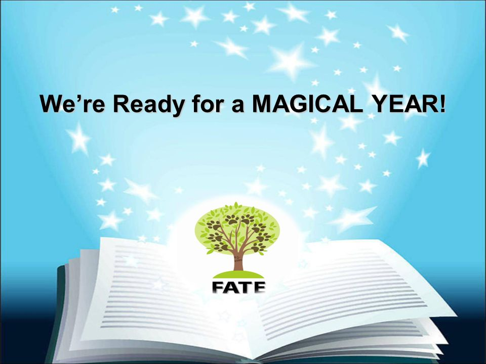 We're Ready for a MAGICAL YEAR!