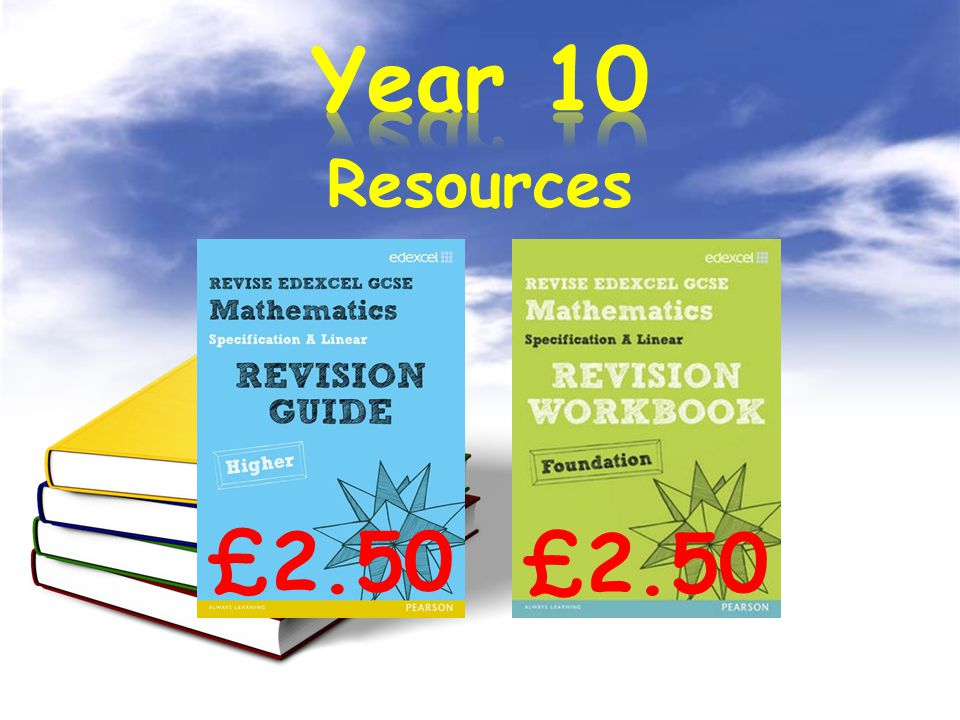 Resources £2.50