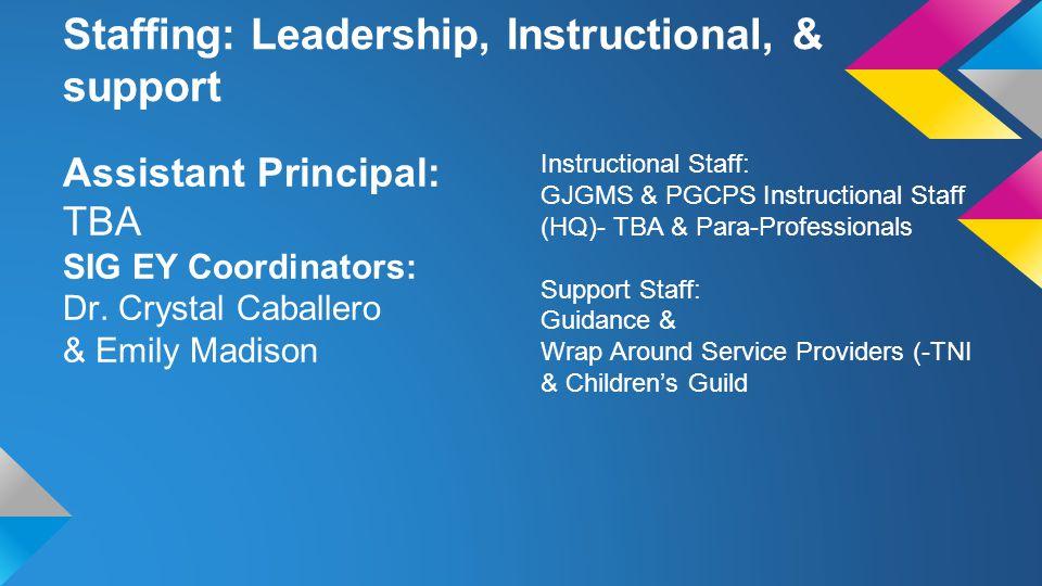 SIG Extended Year Summer Program Location: G.
