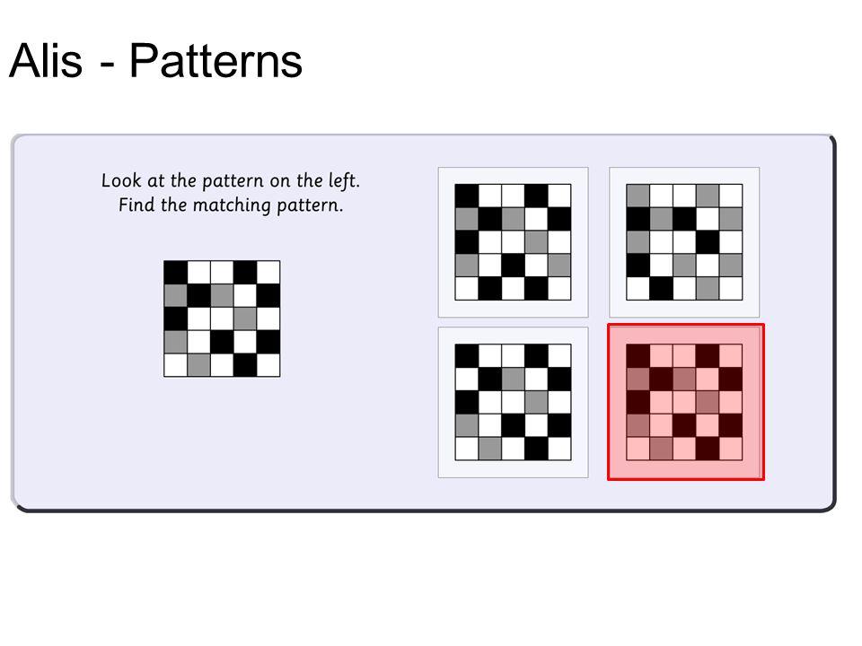 Alis - Patterns