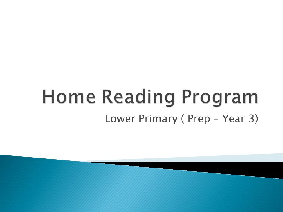 Lower Primary ( Prep – Year 3)