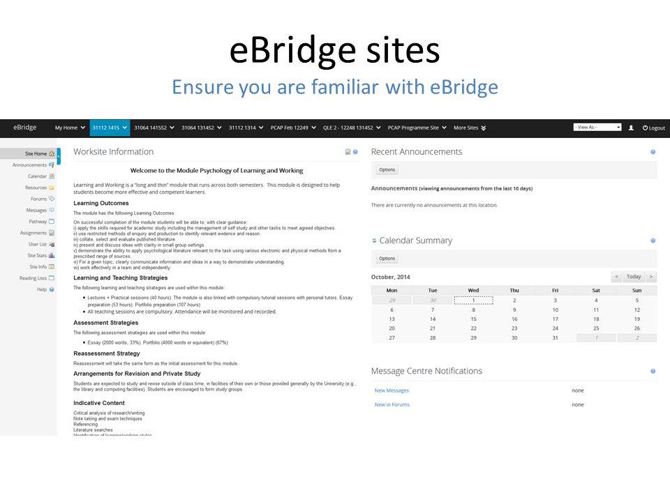 Online Teaching Material - Modules' handbook - Lecture slides - Modules' announcements -...