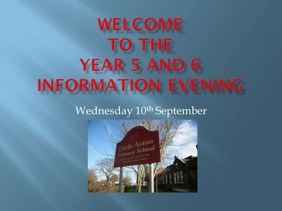 Wednesday 10 th September