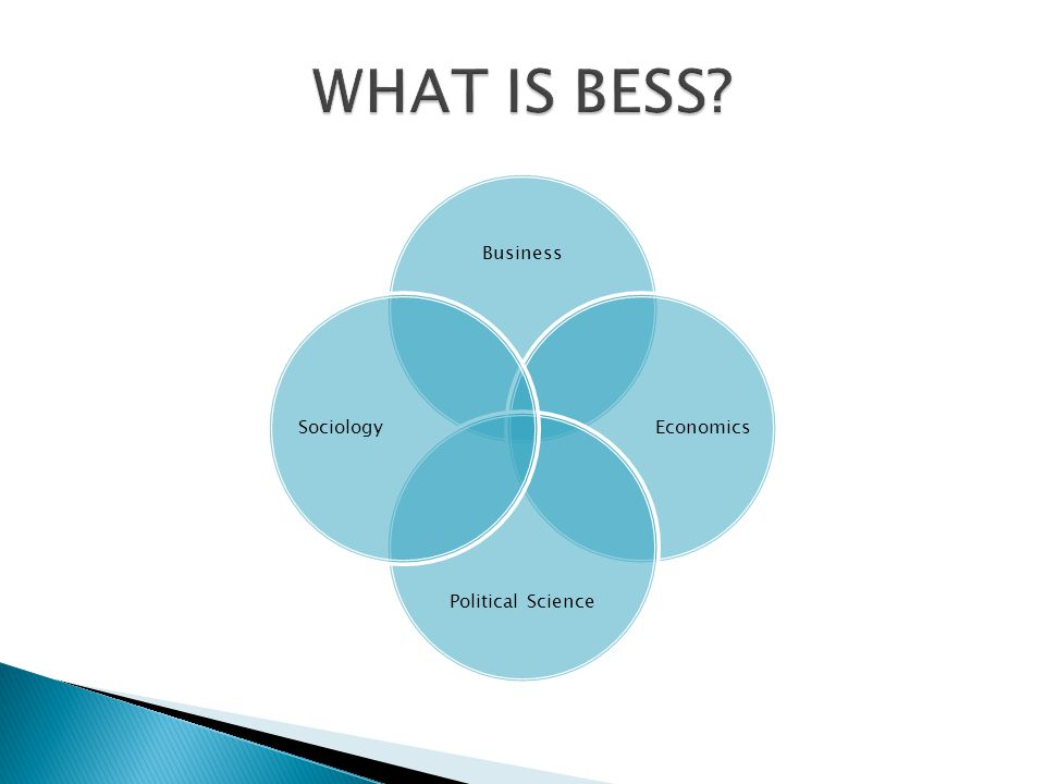  The BESS programme is administered by the BESS Programme Committee, on which a student representative sits  SU elections for class representatives who meet with individual Department Heads on a regular basis  Evaluation of modules by students occurs at the end of Hilary and Michaelmas terms (http://www.tcd.ie/ssp/undergraduate/student-evaluations/YouSaid_WeDid.php)http://www.tcd.ie/ssp/undergraduate/student-evaluations/YouSaid_WeDid.php  Problems with a module.