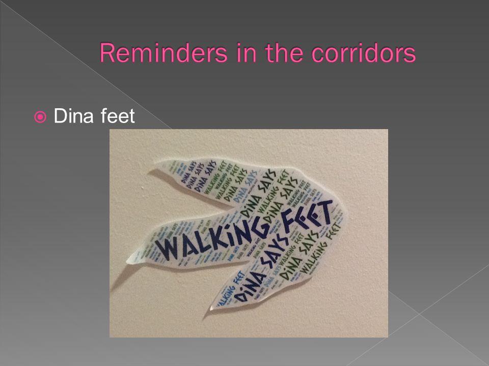  Dina feet
