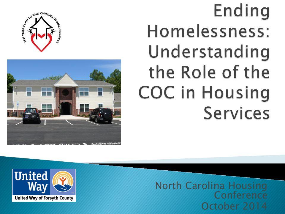 North Carolina Housing Conference October 2014