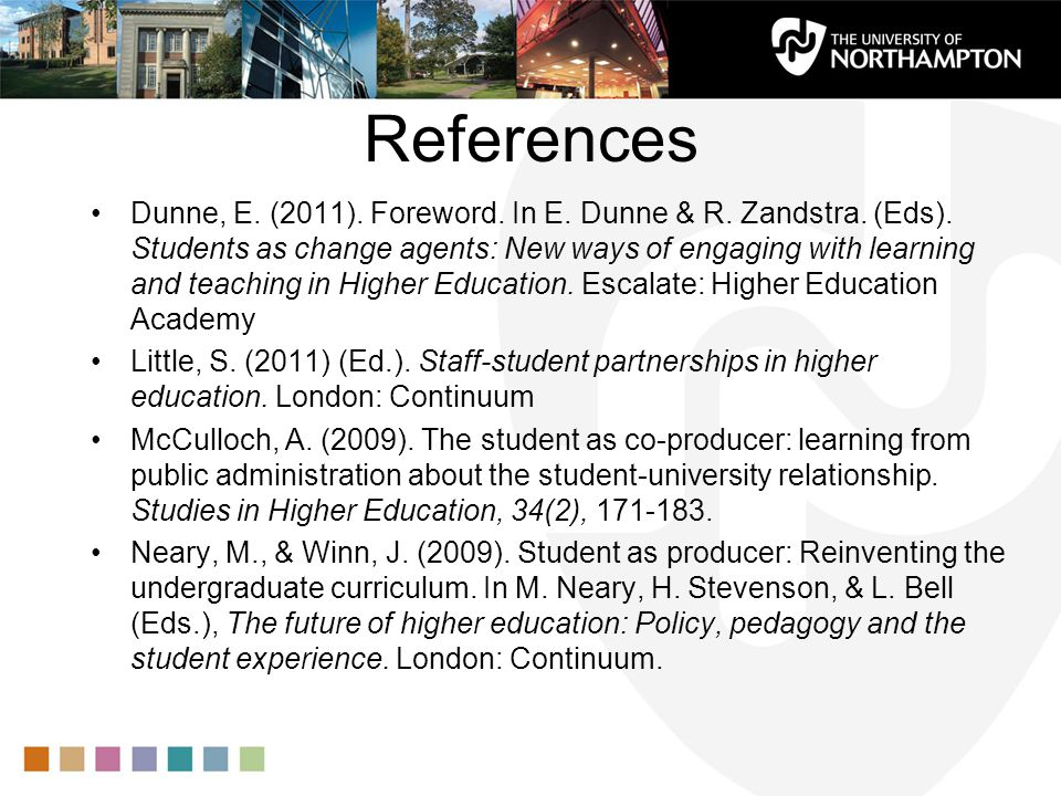 References Dunne, E. (2011). Foreword. In E. Dunne & R.
