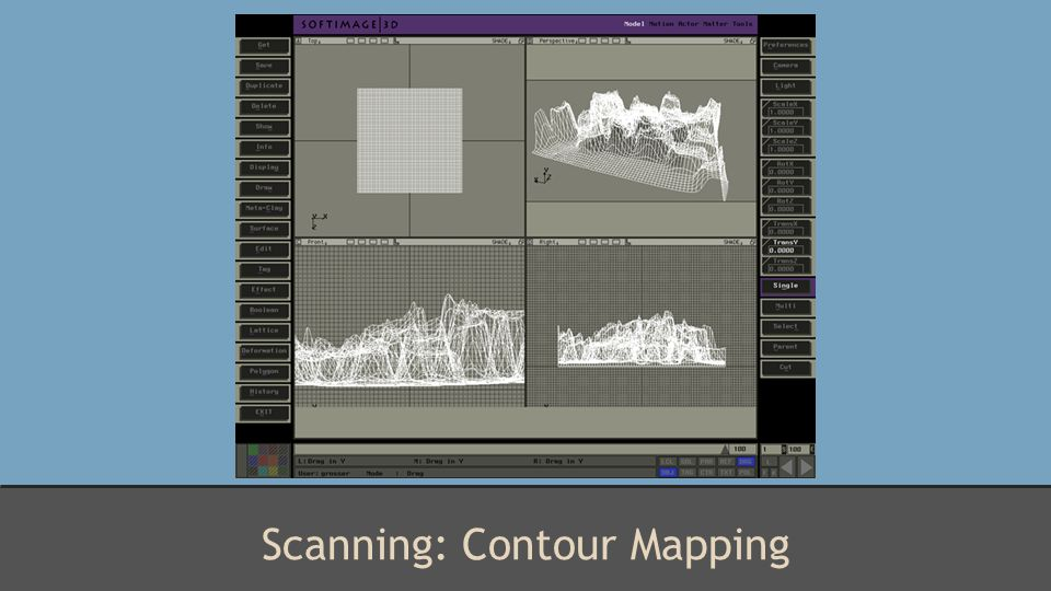 Scanning: Contour Mapping