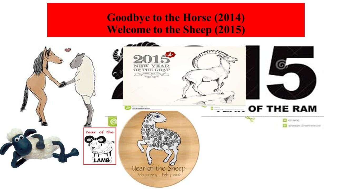 Goodbye to the Horse (2014) Welcome to the Sheep (2015)