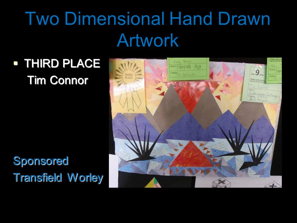 Two Dimensional Hand Drawn Artwork  SECOND PLACE Pilar Robinson-Gonzalez Sponsored Transfield Worley
