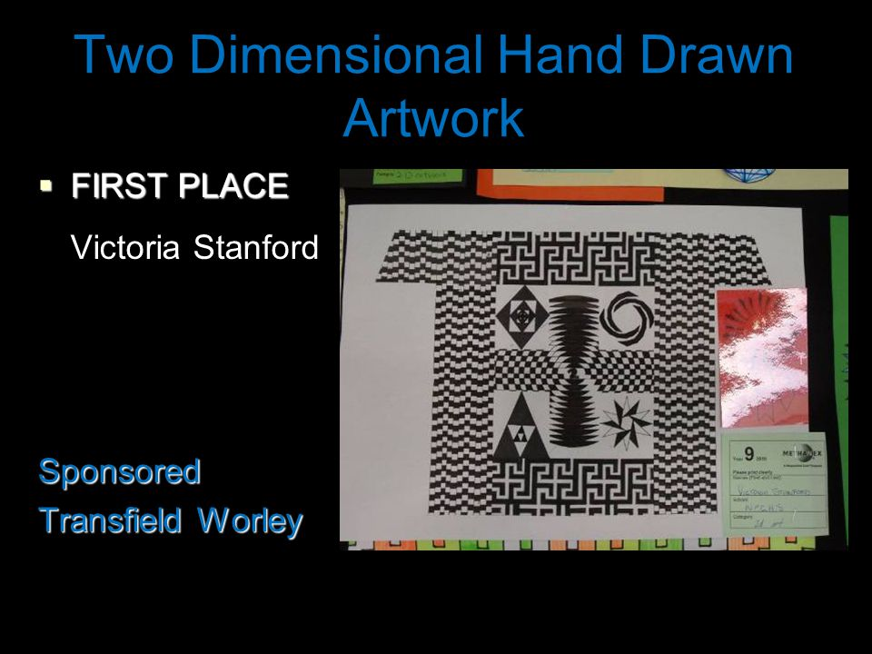 Two Dimensional Hand Drawn Artwork  FIRST PLACE Victoria StanfordSponsored Transfield Worley