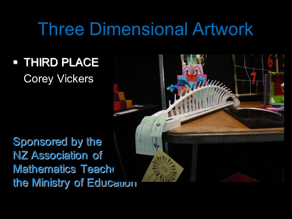 Individual Project  FIRST PLACE Jake McComb Sponsored by McDonalds Family Restaurant